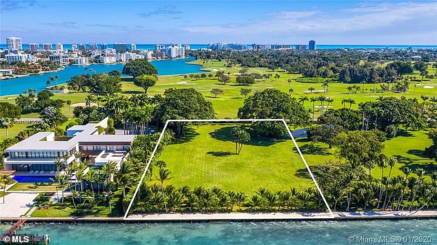 It comes afterThe Kushners reportedly purchased a $31million plot of land on Miami's 'Billionaire Bunker'