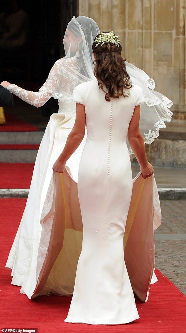 Pippa was thrust into the public spotlight in 2011 when she famously was maid of honour at her sister's wedding