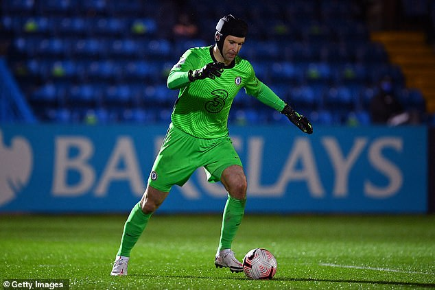 The legendary stopper made a surprise appearance on Monday but conceded after just two minutes