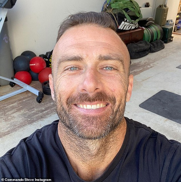 Father-of-four:Steve shares Brianna from an early relationship; Ella and Jack from his relationship with ex-partner Froso; and Axel with Michelle Bridges