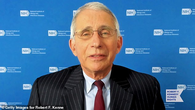 Dr. Fauci says he could get vaccine live on TV by end of the week