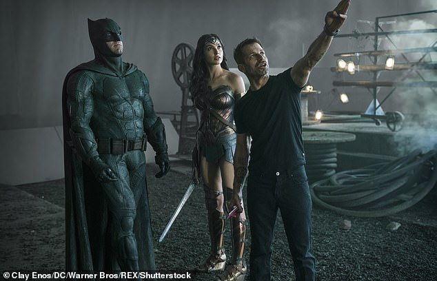 Zack Snyder's Justice League movie will probably be an R-rated movie with Batman dropping an F-bomb