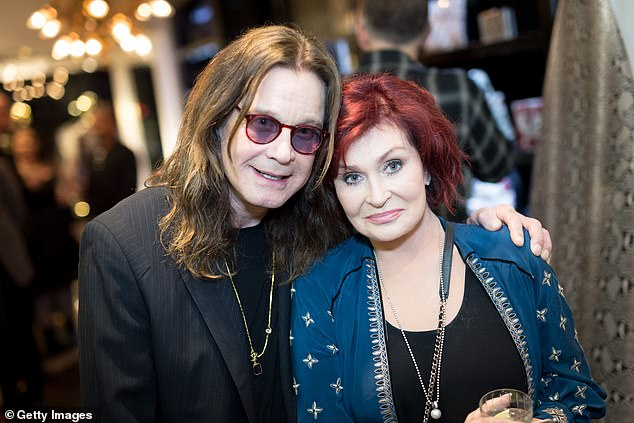 Staying safe: Black Sabbath rocker Ozzy has Parkinson's disease and, together with his age, this puts him at higher risk if exposed to COVID-19 (photo 2017)