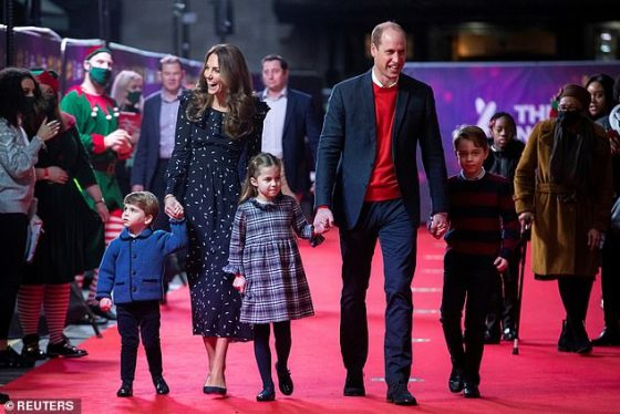 Prince William and Kate Middleton, both 38, have revealed that they surprised key workers and their families with toys and presents when they shared a rewritten version of a Christmas poem about their recent pantomime visit online.