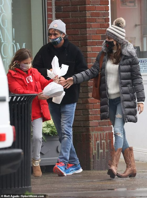 Her Girlfriend: The Real Houswives of New York star and Mr were joined by Bethenny's 10-year-old daughter Bryn