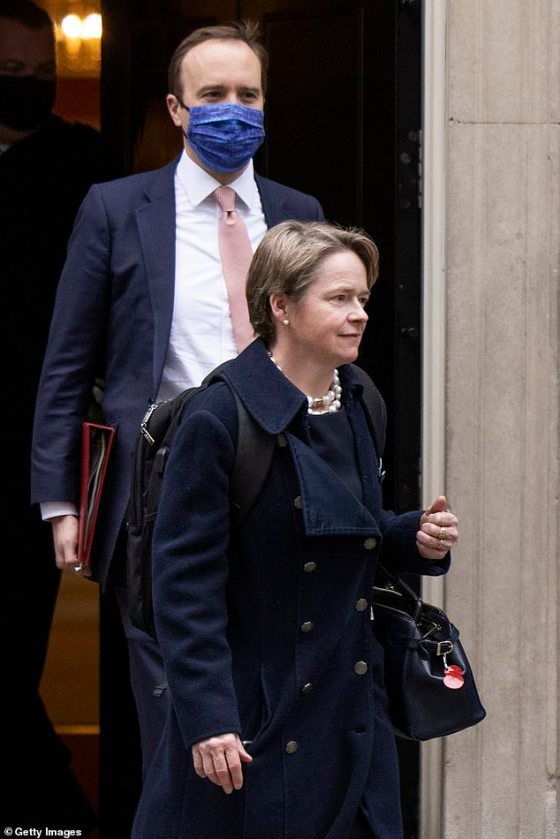 Test & Trace has cost £ 22 billion in taxpayers' money, but has been beset with problems since its inception in May.  Pictured: Dido Harding
