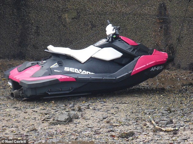 McLaughlan's jet ski was left on the beach at Ramsey harbour, Isle of Man after completing his  four hour journey, which he thought would take 40 minutes, with only ten minutes of fuel left