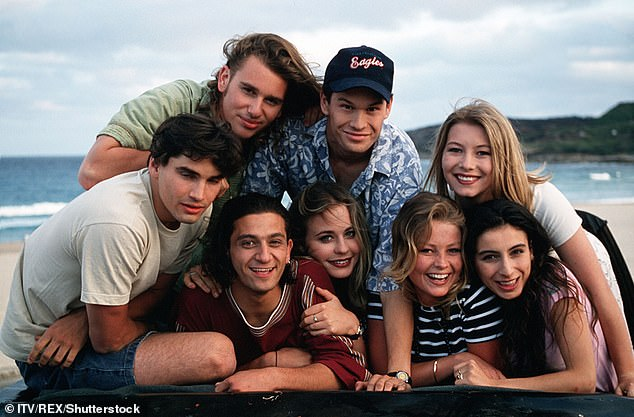 Teen drama: Heartbreak High ran for seven seasons on Channel 10 and ABC from 1994 to 1999, and followed the lives of a group of students at a fictional high school in Sydney