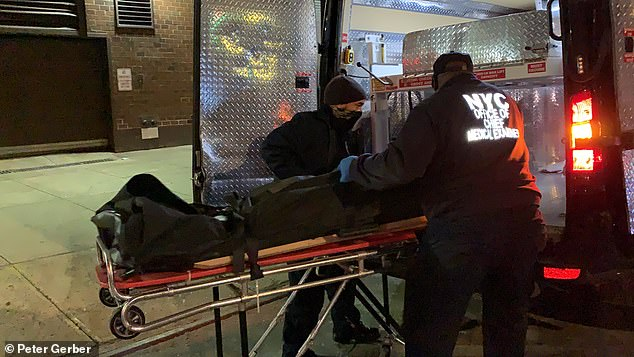 The 39-year-old woman, who has not yet been publicly identified, died Tuesday afternoon in the cellar of the Hell's Kitchen Food Emporium on 43rd Street