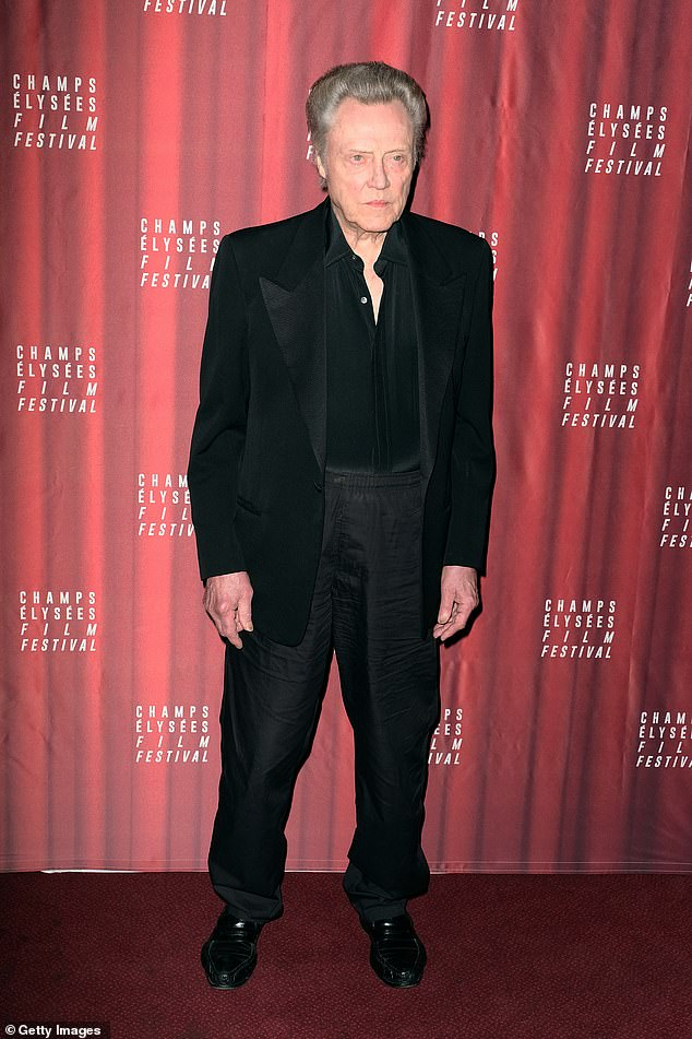 Auction:'He left his auction trunks to be auctioned for charity for the theaters. I went and I got them,' Walken said