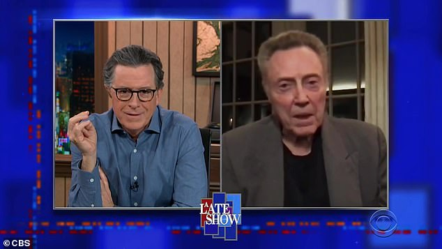 Strange:He told Colbert that he 'never got involved in it' because it would be 'strange to have any 10-year-old be better at it than I am'