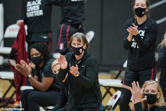 VanDerveer's milestone came with little fanfare as no spectators were allowed in Stockton
