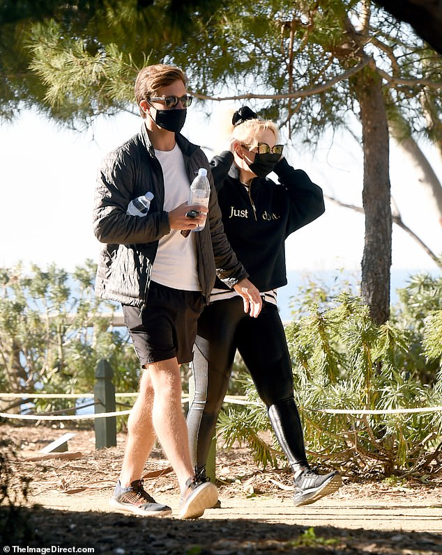 Nature lovers! Rebel Wilson did not shy away from expressing her affection for her beau Jacob Busch during a romantic hike in Los Angeles on Tuesday