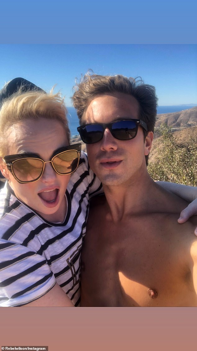 Aww:Rebel and Jacob went public with their romance in September, but the couple have actually known each other for much longer