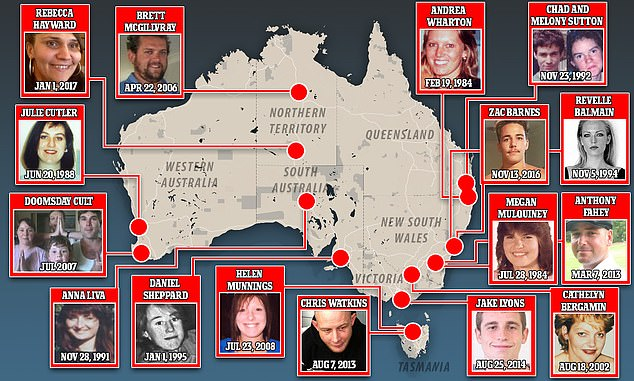 More than 38,000 people going missing in Australia each year. While the majority are found, there are currently around 2600 people who are considered permanently missing