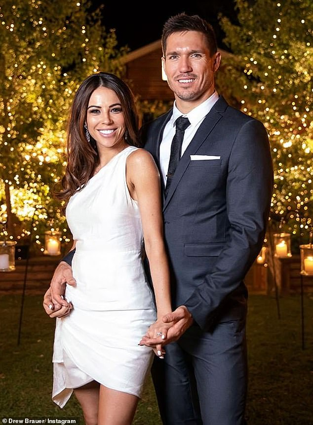 Didn't last: KC was paired with musician and charity founder Drew Brauer on Married At First Sight earlier this year. They split after their final vows but remain friends