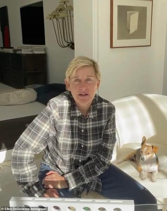 Ellen DeGeneres shared a health update with her 92.3 million Instagram followers Wednesday afternoon, days after she revealed she tested positive for the COVID-19