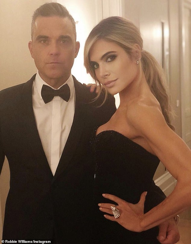 Savior: The singer, 46, revealed he was only tested because his wife, Ayda Field, 41, sent him to doctors - saving his life.