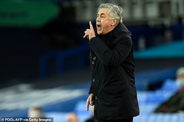 Carlo Ancelotti warned they couldn't afford to make a mistake in the Champions League race