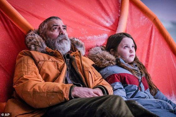 Story: In the film, George plays a scientist who travels through the North Pole with a girl (Caoilinn Springall) to contact a team of returning astronauts in the aftermath of a global catastrophe.