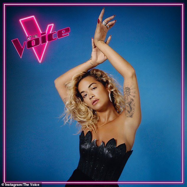 New judging panel: Channel Seven revealed UK pop star Rita Ora (pictured), 30, would be joining an all-star panel of Australian singers - including Keith Urban, Jessica Mauboy and Guy Sebastian - in 2021