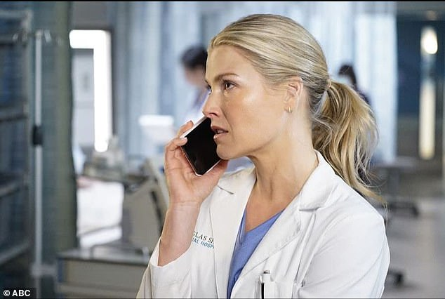 Premieres January 3 on ABC!  Ali will then reprise her role as Dr Grace Sawyer in season three of The Rookie police proceeding.