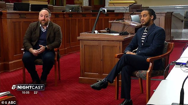 Minneapolis city council members Steve Fletcher (left) and Phillipe Cunningham (right) said in an interview on Tuesday that''Defund' is not the framework the council has ever chosen'