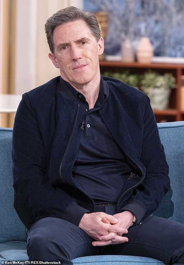 'He's a big, big fan of Strictly': Oti said comedian Rob Brydon hopes to follow in Bill's footsteps next year by getting high scores and being taken seriously in the competition.