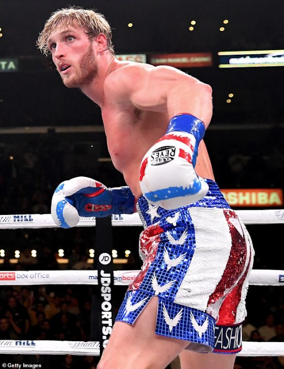 The YouTuber has only fought twice but Mayweather is wary he could change the world of boxing