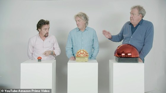 Aim: Standing in front of bedazzled red buttons, ridiculed by Richard for the film crew asking them to make 'k ** b gags', they considered the return of the show