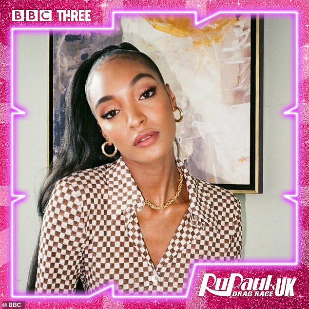 Here she is: Supermodel Jourdan Dunn, 30, will impart her knowledge of the catwalk as she helps the Queens work the runway