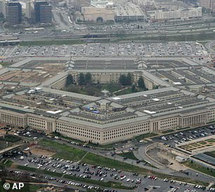The Pentagon (pictured) is thought to be one of a dozen victims of a cyber-attack which officials suspect was directed by the Russian government