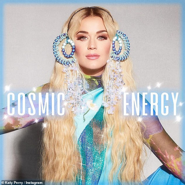 Katy Perry surprises fans by releasing surprise Cosmic Energy EP | Daily  Mail Online