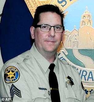 Sgt. Ron Helus (above) was accidentally shot dead by a fellow officer who had joined him in the firefight that night