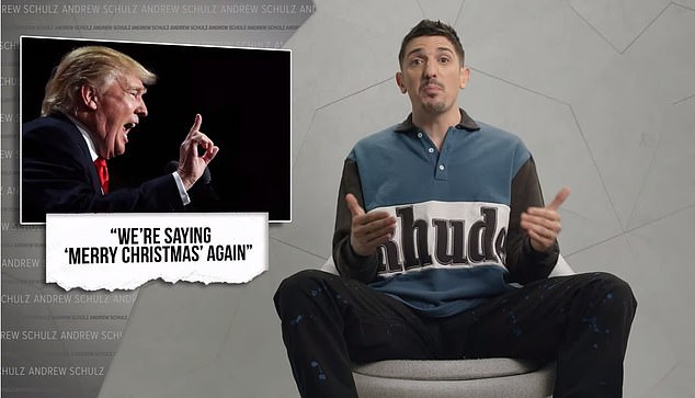 The short series ishosted by standup comedian and YouTuber Andrew Schulz, who recaps the chaotic events that occurred in 2020