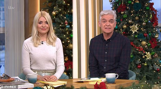 Radio silence?Holly Willoughby, 39, and Phillip Schofield, 58, failed to reference the presenting couple's last day on their own social media accounts