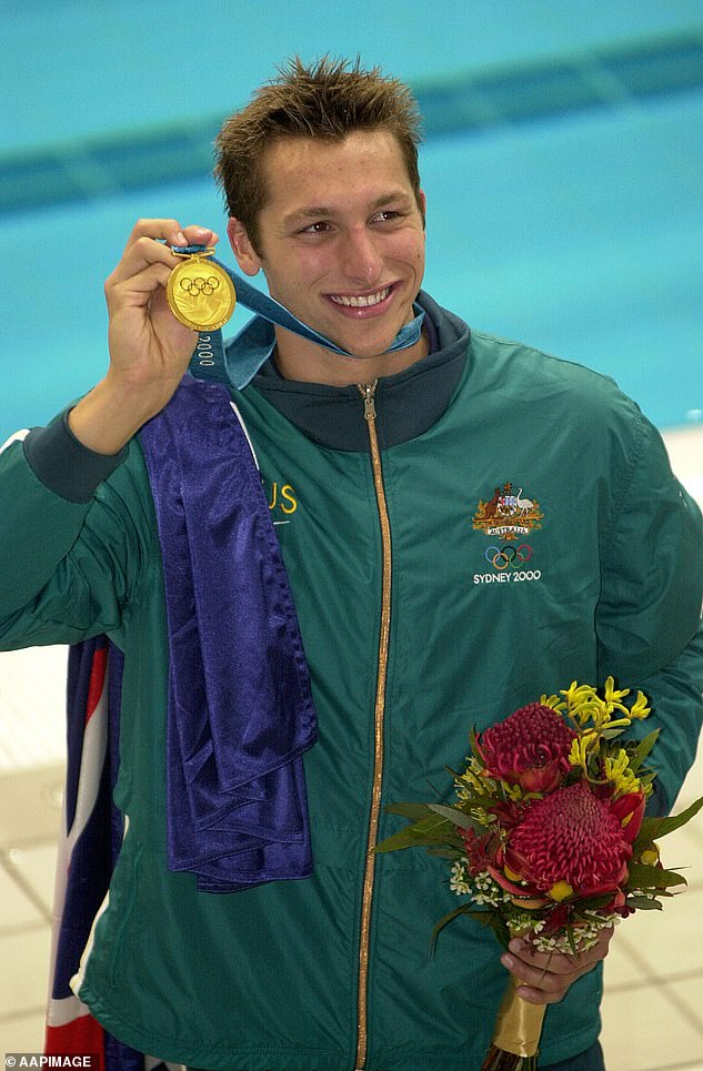 Pressures:The five-time Olympic champion said he retired from his career at such a young age because he wasn't able to deal with the enormous amount of pressure