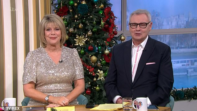 Hosting duties: The pair have filled in for Holly Willoughby and Phillip Schofield on Fridays for 15 years (pictu