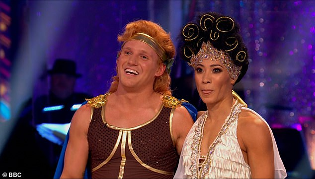 Heroic! Made In Chelsea personality Jamie and Karen Hauer took to the floor to dance their Hercules-themed Charleston to the track Zero to Hero