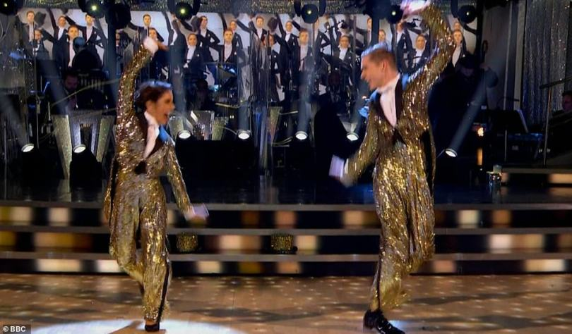 What a show! For their third and final dance, each couple were tasked with reprising their favourite dance of the series, which for HRVY and Janette was their American Smooth to One from A Chorus Line, scoring 30 out of 30