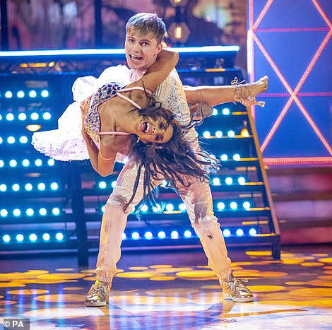 Don't drop her! Host Tess crowned HRVY the 'King of the Lifts, while Shirley said Janette 'squeeze every last drop of anything to do with dance out of him'