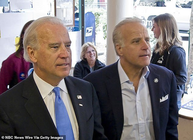 Joe Biden and brother James, the father of Caroline. She has had multiple run-ins with the law