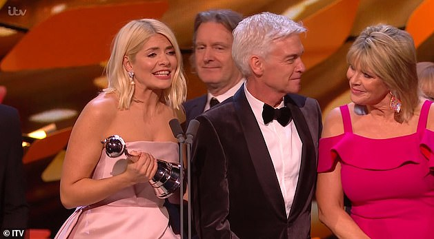 Reaction: Viewers noted their frosty interaction at the National Television Awards in January and took to Twitter to comment on their awkward on-stage chemistry at the time