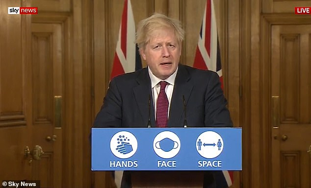 Announcement:On Saturday afternoon, Prime Minister Boris Johnson revealed that a third of England - including London - will be thrust into a brutal 'Tier 4' lockdown from midnight