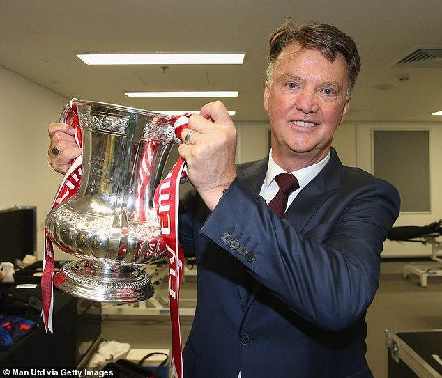 Van Gaal won the FA Cup with United but was still sacked immediately after