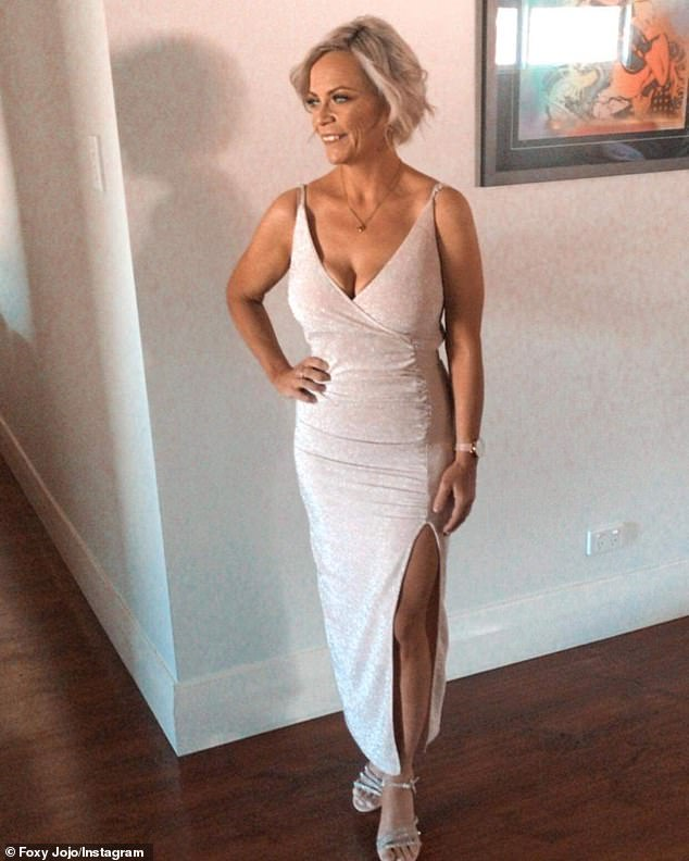 Stunner: In September, Jo revealed she had lost more than 20 kilograms while reflecting on her MAFS appearance in 2018