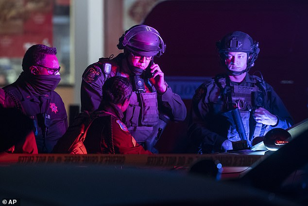 Gunman shoots one at California shopping mall forcing police staff and customers to shelter in place