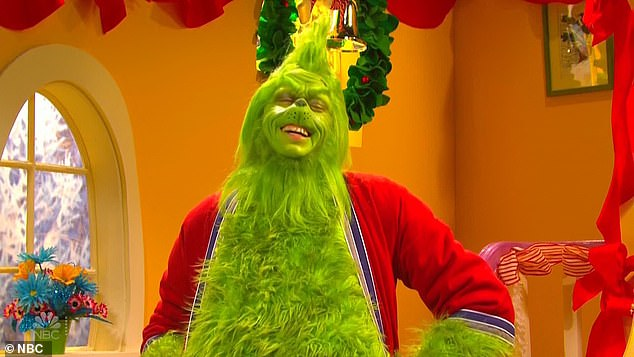 Pete Davidson ruins a classic as he gets Grinch-y for threesome with Cindy Lou Who's parents on SNL