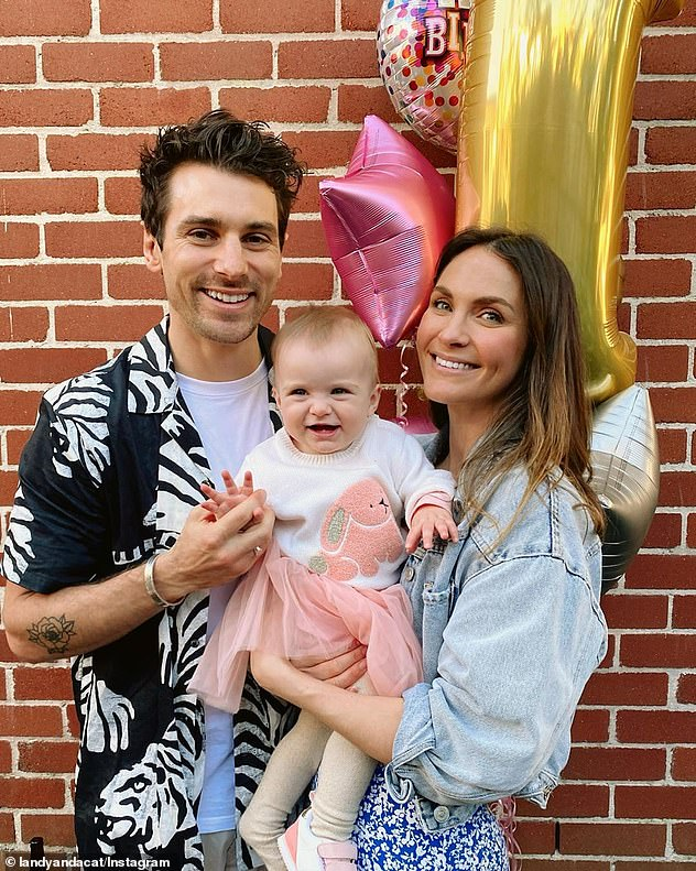 Family:Matty and Laura fell in love on The Bachelor three years ago, and got engaged in April last year during a romantic holiday in Fiji