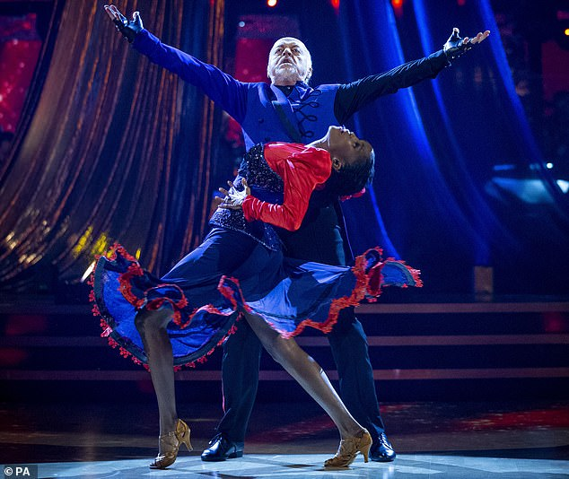 Wow! Bill Bailey, 55, became the oldest champion in the show's history as he and dance partner Oti Mabuse, 30, sashayed their way to victory and took home the Glitterball trophy this year